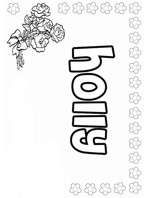 Coloring Page Names by Names Coloring Pages Free Printable Names