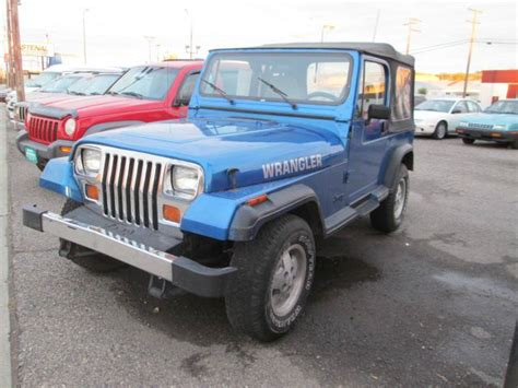 1991 Jeep Wrangler Sale Used Cars Billings Mt Inventory Auto Acres Autos Post