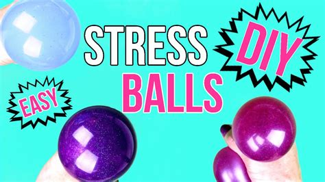 easy diy diy crafts how to make a squishy stress easy