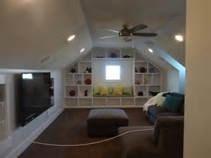 bonus room built in shelves and cabinets in a bonus room google search house decorating pinterest