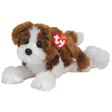 ty puppy stuffedanimals stuffed plush dogs ty beanie babies 8 quot stuffed plush rowdy