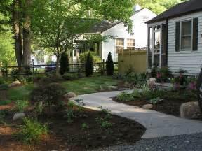 exle front yard landscape design garden post
