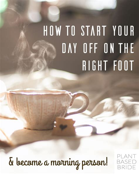 Starting Your Day With The Right Shoes by How To Start Your Day On The Right Foot Becoming A