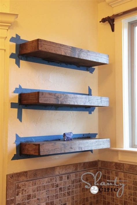 how to make floating shelves woodworking projects plans