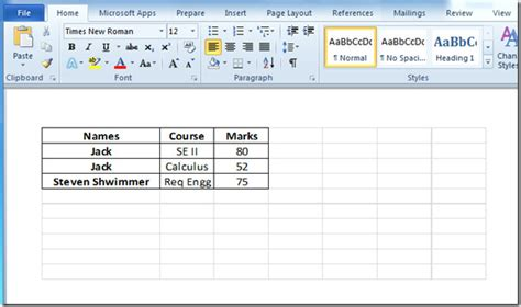 add embed excel spreadsheet in word 2010 document