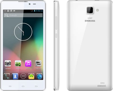 Evercoss Android A65a smartphone selfie murah terbaik dari evercoss pricebook