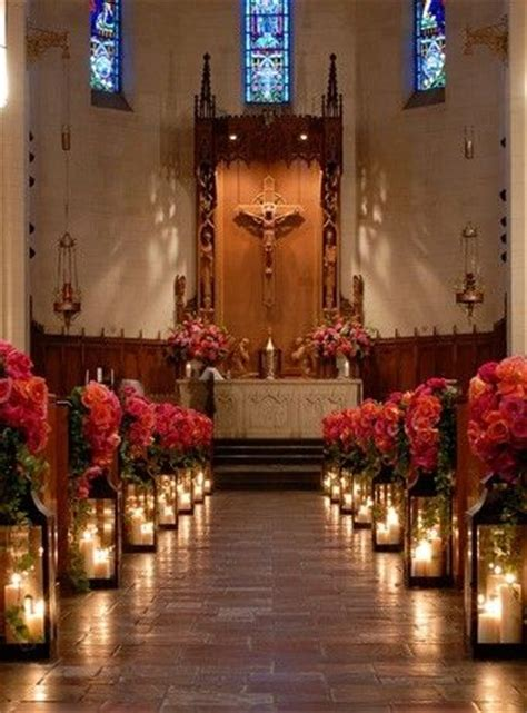 25 best ideas about wedding chapel decorations on