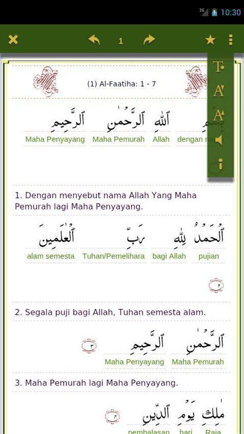 download mp3 al quran dan terjemahan per ayat download quran kata per kata 1 0 apk books reference apps
