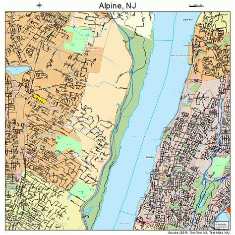 alpine new jersey map 3401090