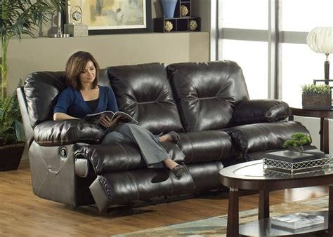 black or brown leather reclining theater sectional home cortez dual reclining sofa in dark brown leather by