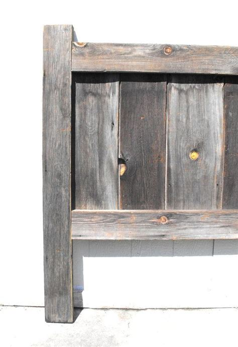 barn wood headboard 1000 ideas about barn wood headboard on wood headboard 4 panel doors and headboards
