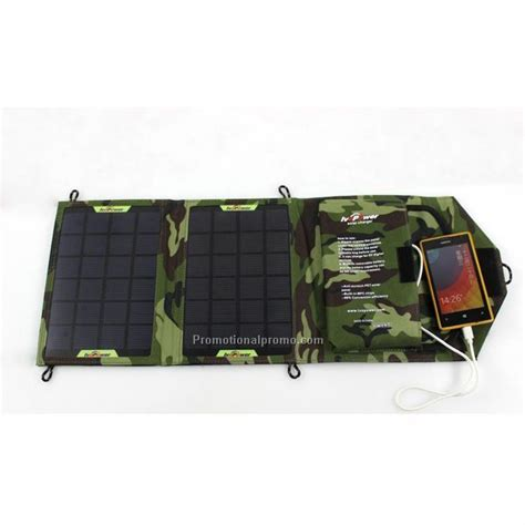 Foldable Solar With 2 Solar Panel Black 7w 2 panel foldable solar charger china wholesale