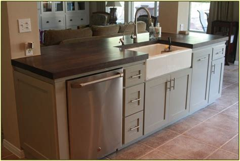 kitchen island with dishwasher and sink kitchen island with sink and dishwasher best home design
