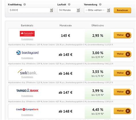 santander bank kreditrechner kreditrechner kredite im vergleich