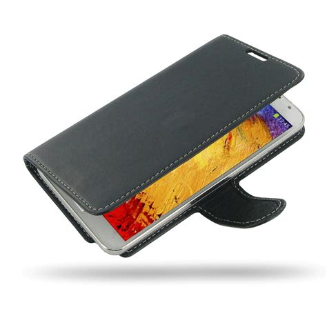 Leather Book Cover Samsung Galaxy Note 3 Neo samsung galaxy note 3 neo leather flip carry cover pdair book