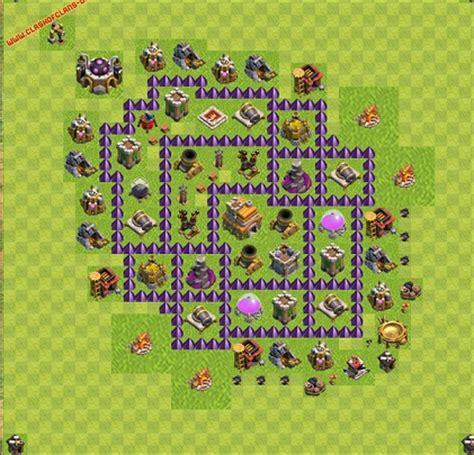 layout cv 7 clash of clans dicas jogo clash of clans layout cv 7