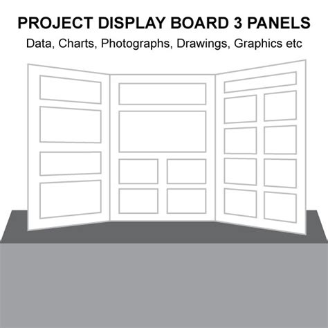 Poster Board 187 Where Can You Buy Tri Fold Poster Boards Display Board Template
