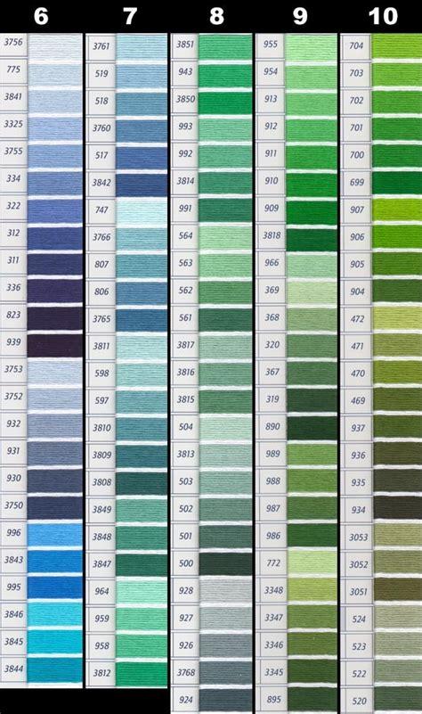 dmc thread color chart dmc perle threads color chart nakpunar