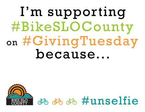 Uncategorized Archives Bike Slo County Giving Tuesday Template