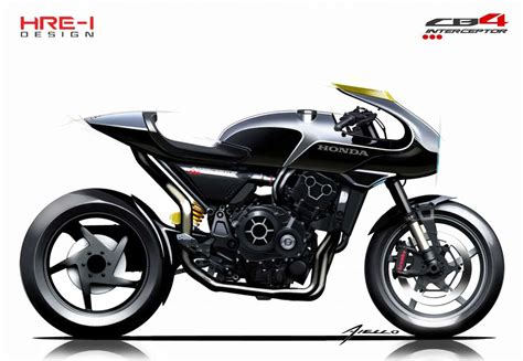 Honda Interceptor Review by 2018 Honda Cb4 Interceptor Concept Review Totalmotorcycle