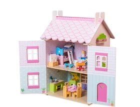 my first dolls house le toy van my first dreamhouse dolls house furniture included h136 163 92 99