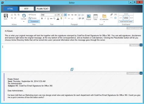 Office 365 Mail Only How To An Office 365 Email Signature Inserted Only