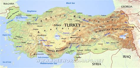 turkey on a map of europe turkey physical map