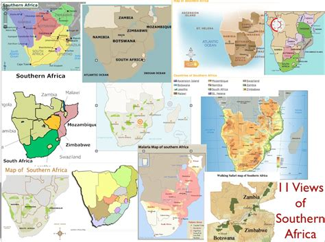 southern map where is southern africa geocurrents