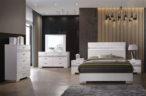 modern bedroom furniture stores bianca white lacquer modern bed