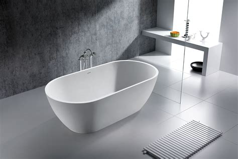 solid surface bathtubs vichy solid surface modern bathtub 63 quot