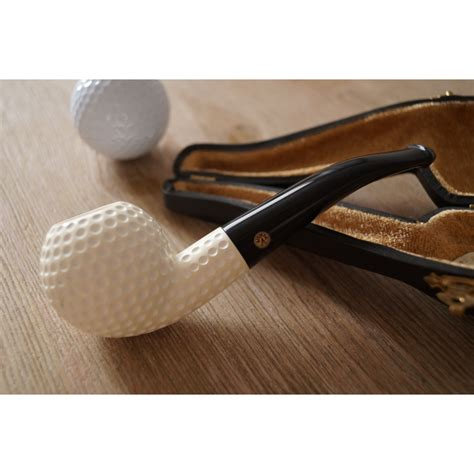 Handmade Pipes - meerschaum tobacco pipe unique handmade pipe quot golf