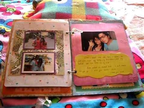 Handmade Scrapbook For Boyfriend - scrapbook for my boyfriend