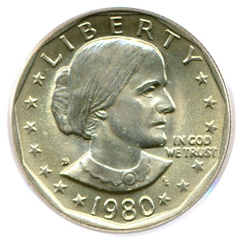 1980 d susan b anthony dollar sba pcgs ms66 buy sell certified rare coins coin values