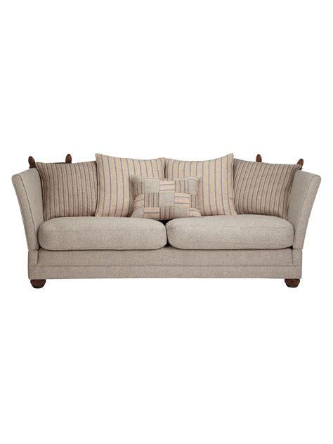 Harris Tweed Knoll Medium Sofa, Beige at John Lewis & Partners