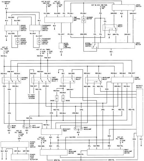 1991 300zx wiring diagram wiring diagram manual