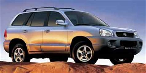 2004 Hyundai Santa Fe Tire Size by 2004 Hyundai Santa Fe Safety Features Iseecars