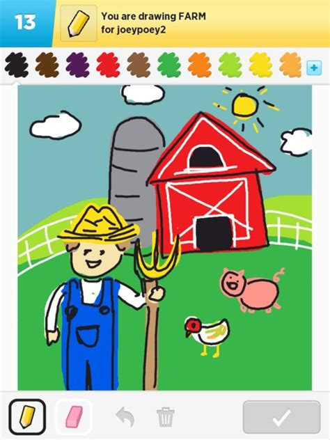 how to a farm farm drawings how to draw farm in draw something the best draw something drawings