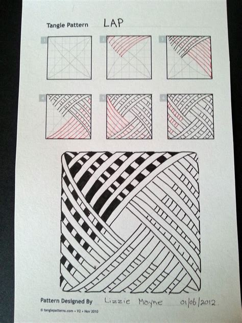 zentangle pattern images zentangle patterns on pinterest tangle patterns