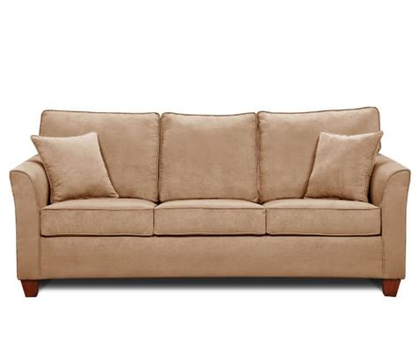 sleeper sofa queen size simmons micro fiber taupe queen size size sofa sleeper 799 99
