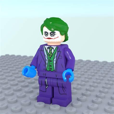 lego joker tutorial joker lego obj