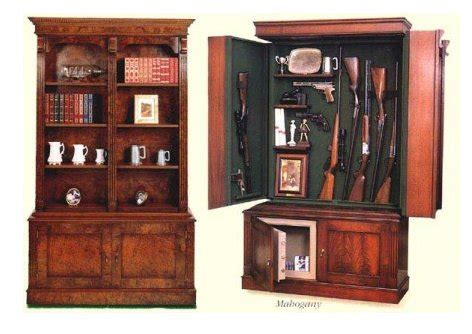 concealed gun cabinet plans pdf craftsman style