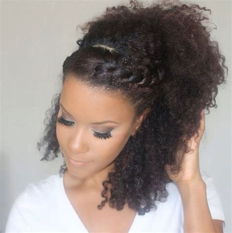 braid in front curl in back hair gorgeous messy hairstyles for curly hair hair world magazine