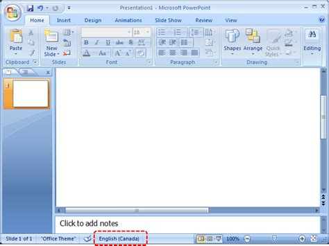 Microsoft Office Powerpoint 2007 authoring techniques for accessible office documents