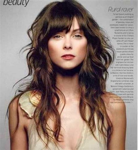 beach wave haircuts with bangs photos hair styles beach waves with bangs hairstylegalleries com