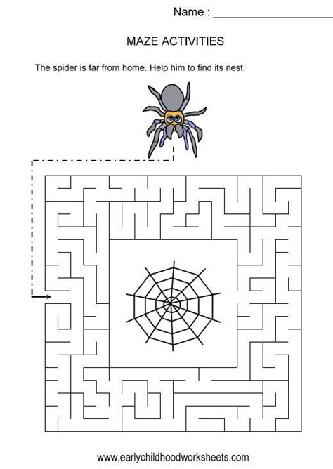 spider worksheets for kindergarten 17 best images about spiders on graphic organizers cycles and spider