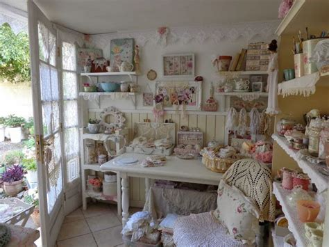 175 best images about shabby chic craft room on pinterest