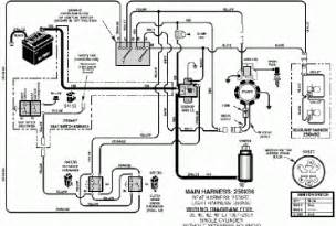 s lawn mower wiring diagram wedocable