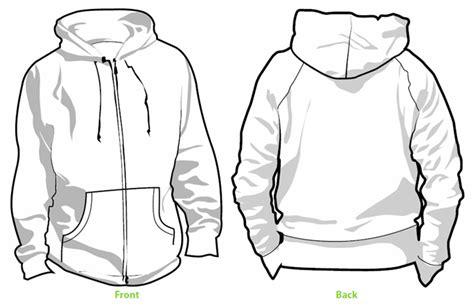 desain jaket hoodie coreldraw tee shirt outline coreldraw x4 coreldraw graphics