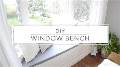 diy under window storage bench diy window bench with storage the home depot youtube