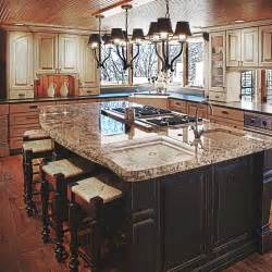 pictures of kitchen designs with islands kitchen island design ideas quinju